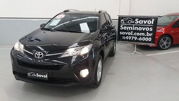 Toyota Rav4 4X2 2.0 16V Preto 2013}