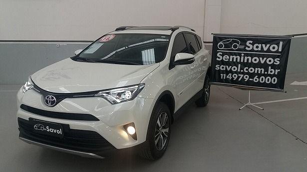 Toyota Rav4 4X2 2.0 16V Branco 2018}