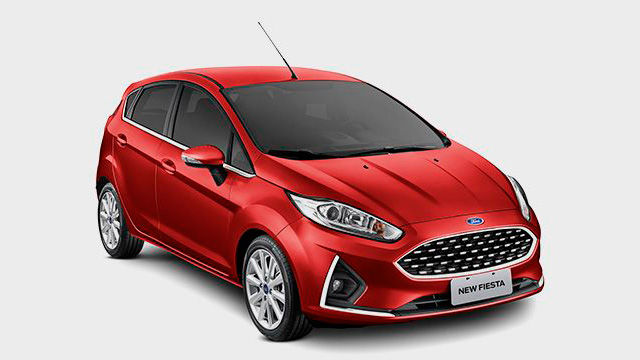 New Fiesta Hatch - Alarme com Global Closing