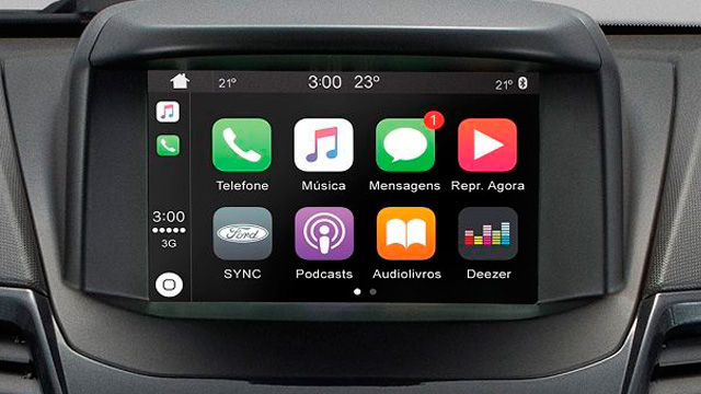 New Fiesta Hatch - Apple CarPlay
