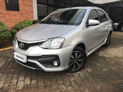 Toyota Etios Sedan Platinum 2016 2017}