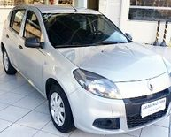 Renault Sandero Authentique 1.0 16V (Flex) 2014}