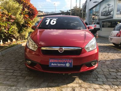 Fiat Grand Siena ESSENCE 1.6 16V FLEX 2016 4P 2016}