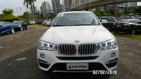 BMW X4 2.0 28I X LINE 4X4 16V TURBO GASOLINA 4P AUTOMÁTICO 2015}