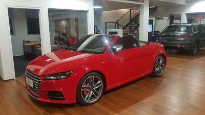 Audi TTS COUPÉ 2.0 TFSI STRONIC QUATTRO 2017}