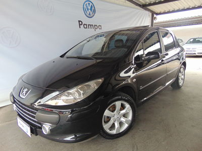 Peugeot 307 Hatch. Feline 2.0 16V (flex) 2009}