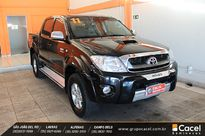 Toyota Hilux Cabine Dupla SRV A/T Top 3.0L 4x4 Diesel 2011}