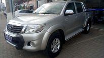 Toyota Hilux Cabine Dupla Flex SRV 2.7L 4x4 (Aut) 2013}