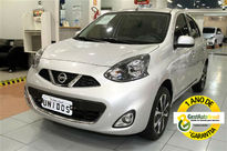 Nissan March 1.6 SL 16V FLEX 4P MANUAL 2017}