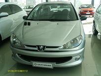 Peugeot 206 Hatch. 1.4 8V (flex) Web 2008}