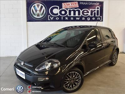 Fiat Punto BlackMotion 1.8 16V (Flex) 2014}