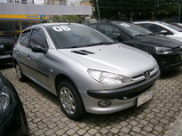 Peugeot 206 Hatch. Sensation 1.4 8V (flex) (Web) 2008}
