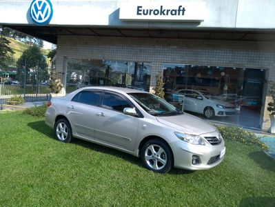 Toyota Corolla 1.8 GLi Manual Flex 2013}