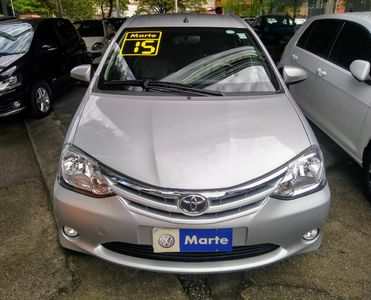 Toyota Etios Sedan XLS 1.5 (Flex) 2014}