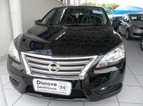 Nissan Sentra SV 2.0 16V CVT (Aut) (Flex) Preto 2014}