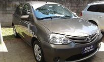 Toyota Etios Hatch 1.3 X 16V FLEX 4P MANUAL 2017}