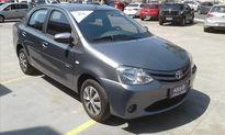 Toyota Etios Sedan X 1.5 (Flex) 2014}