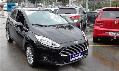 Ford New Fiesta Sedan Titanium 1.6 (Aut) 2015}