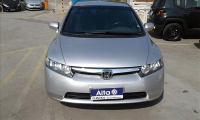 Honda Civic New  LXS 1.8 (aut) (flex) 2008}