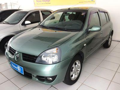 Renault Clio 1.6 EXPRESSION 16V FLEX 4P MANUAL 2008}
