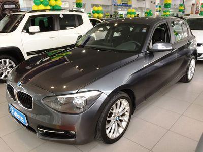 BMW 118I 1.6 16V TURBO GASOLINA 4P AUTOMÁTICO 2014}