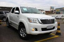 Toyota Hilux 2.7 SRV 4X4 CD 16V FLEX 4P AUTOMÁTICO 2015}