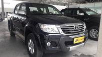 Toyota Hilux Cabine Dupla Flex SRV 2.7L 4x4 (Aut) 2015}