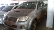 Toyota Hilux Cabine Dupla Diesel STD 3.0  4x4 2015}