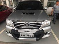 Toyota Hilux 3.0 SRV TOP 4X4 CD 16V TURBO INTERCOOLER DIESEL 4P AUTOMÁTICO 2015}
