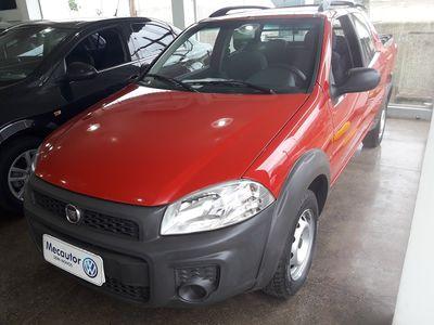 Fiat Strada Working 1.4 (Flex)(Cab Dupla) 2016}