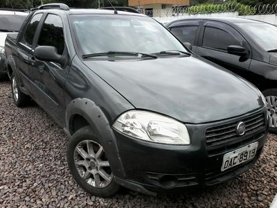 Fiat Strada Working 1.4 (Flex) (Cab Dupla) 2012}