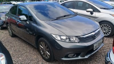 Honda Civic New  LXS 1.8 16V i-VTEC (aut) (flex) 2014}