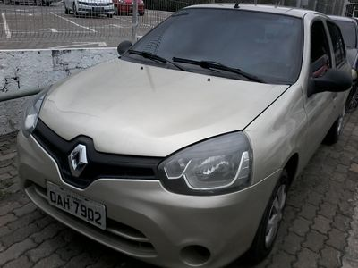 Renault Clio Authentique 1.0 16V (Flex) 4p 2014}