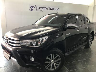 Toyota Hilux Cabine Dupla Diesel SRX 2.8L Turbo (Aut) 2017}