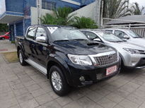 Toyota Hilux 3.0 SRV TOP 4X4 CD 16V TURBO INTERCOOLER DIESEL 4P AUTOMÁTICO 2012}