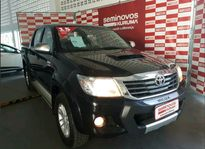 Toyota Hilux Cabine Dupla SRV A/T Top 3.0L 4x4 Diesel 2015}