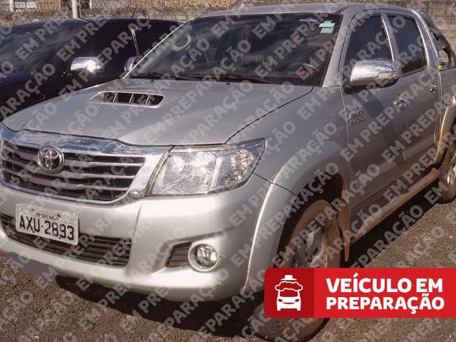 Hilux Cabine Dupla SRV A/T 4x4 Diesel