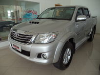 Toyota Hilux Cabine Dupla SRV A/T 4x4 Diesel 2014}