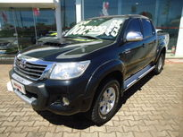 Toyota Hilux Cabine Dupla SRV A/T 4x4 Diesel 2013}