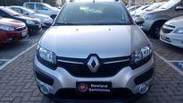 Renault Sandero 1.6 STEPWAY 16V FLEX 4P AUTOMÁTICO 2015}