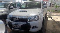 Toyota Hilux 3.0 SRV 4X4 CD 16V TURBO INTERCOOLER DIESEL 4P AUTOMÁTICO 2014}