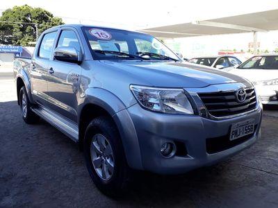 Toyota Hilux Cabine Dupla Flex SRV 2.7L 4x2 (Aut) 2015}