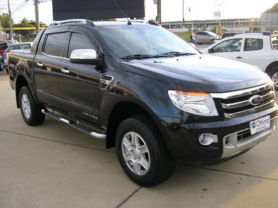 Ford Ranger Cabine Dupla Ranger 2.5 Flex 4x2 CD Limited 2013}