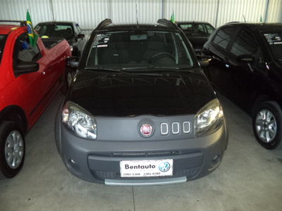 Fiat Uno 1.0 EVO WAY FLEX 4P MANUAL 2012}