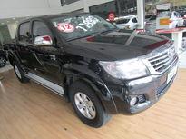 Toyota Hilux Cabine Dupla Flex SRV 2.7L 4x4 (Aut) 2012}