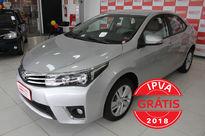 Toyota Corolla 1.8 GLi Automático Couro Flex 2017}