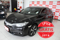 Honda Civic Touring 1.5 Turbo (Aut) 2017}