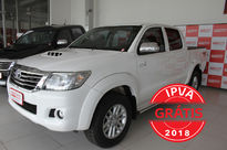 Toyota Hilux 3.0 SRV TOP 4X4 CD 16V TURBO INTERCOOLER DIESEL 4P AUTOMÁTICO 2015}