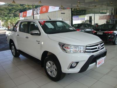 Toyota Hilux Cabine Dupla Flex SRV 2.7L 4x2 (Aut) 2018}