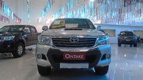 Toyota Hilux 3.0 SRV 4X4 CD 16V TURBO INTERCOOLER DIESEL 4P AUTOMÁTICO 2013}